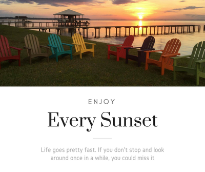 Enjoy Every Sunset with Evergreen Patio Products!