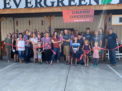 Evergreen Patio officially opened in Cave Spring, Sept. 19th.