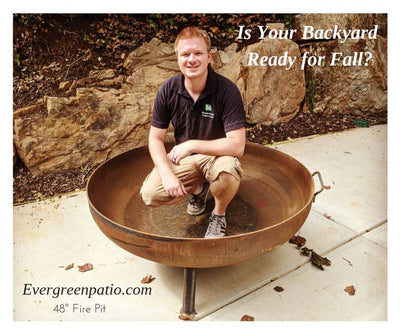 HEAVY DUTY FIRE PIT FOR COOLER WEATHER