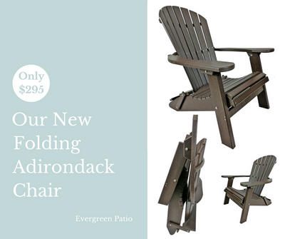 New Folding Adirondack Chair!