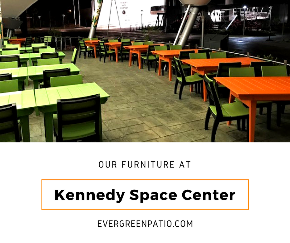Magnificent Our Furniture Is At Kennedy Space Center Evergreen Patio Home Interior And Landscaping Ferensignezvosmurscom