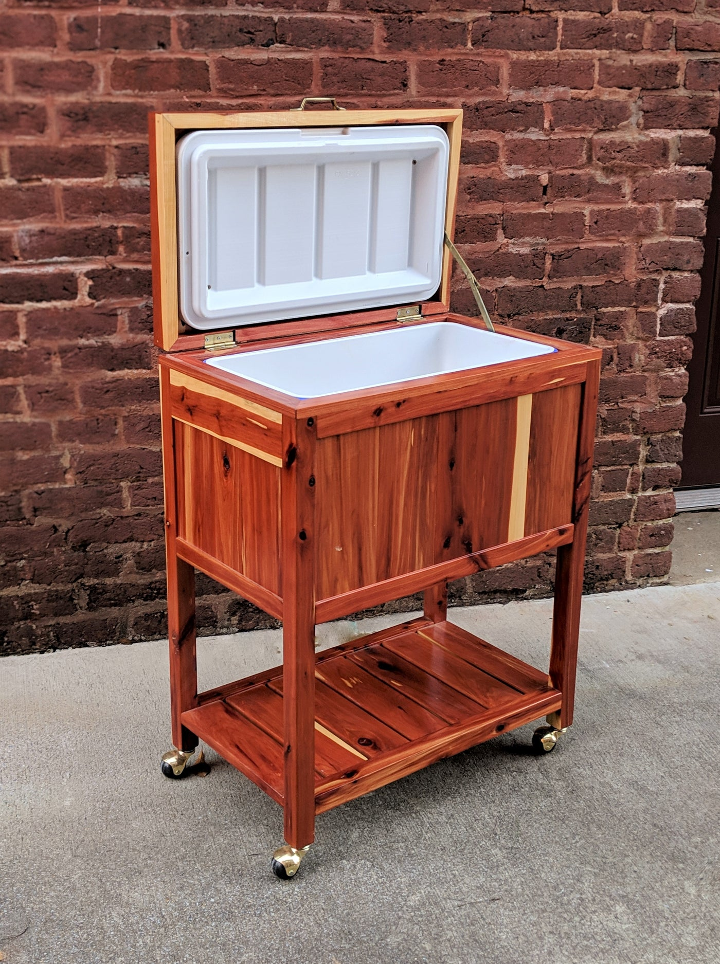 Green Egg Table & Cooler Chests