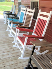 Poly Country Rocker - Evergreen Patio