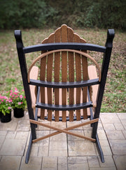 Poly Hickory Bend Rockers - Evergreen Patio