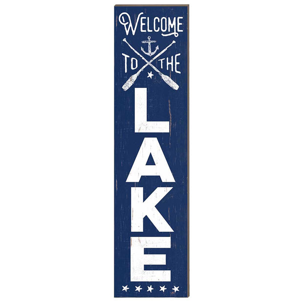 12 x 48 Welcome to Lake Leaner Sign