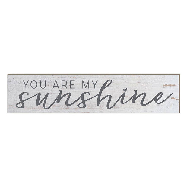 "3"" x 13""  You Are My Sunshine Plaque"