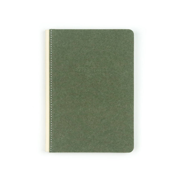 Travel Canvas Bound Keep Record Olive Journal