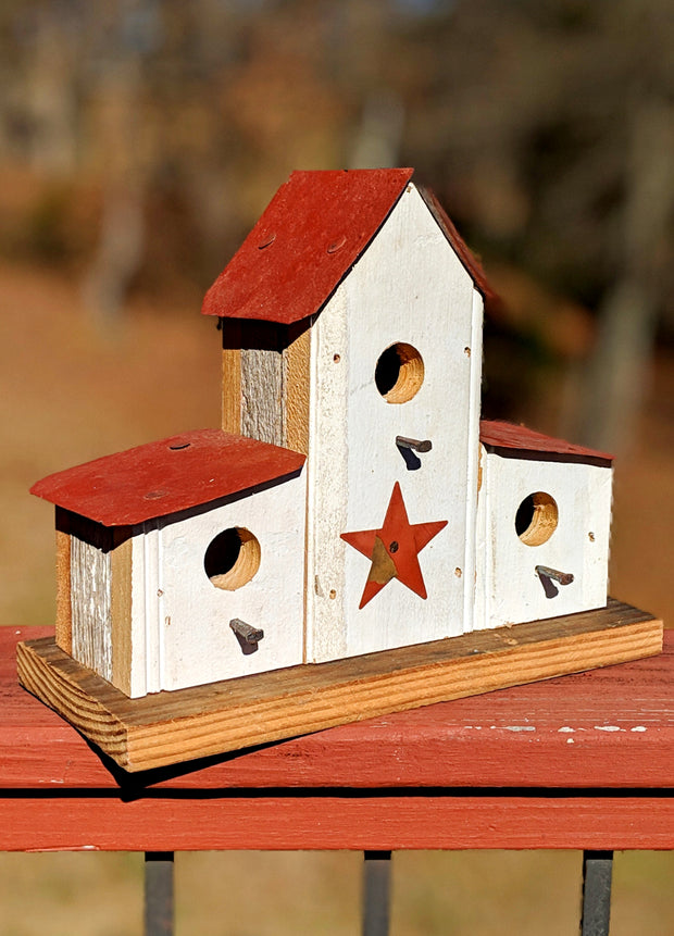 Small Double Lean-to Birdhouse