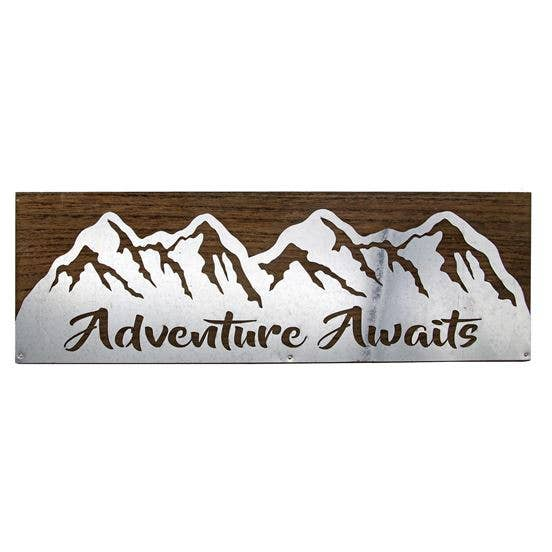 Adventure Wall Sign