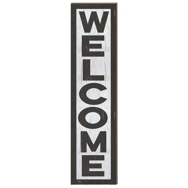 12 x 48 Welcome Porch Leaner Sign