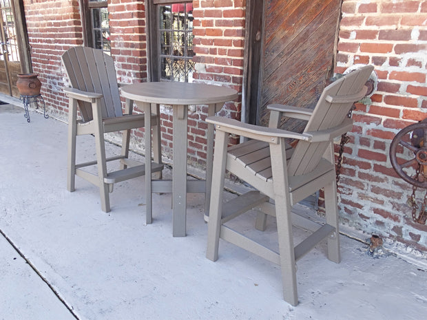Balcony Adirondack Chair - Evergreen Patio