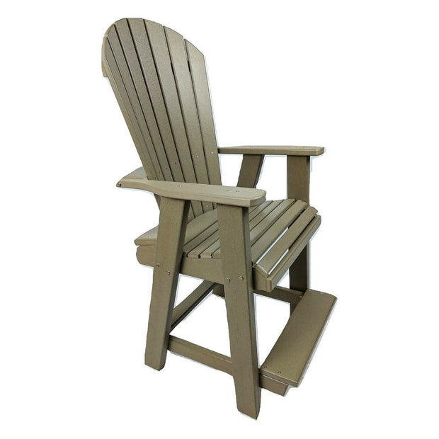 Poly Adirondack Pub Chair