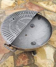 Heavy Duty Grill Grate - Half Moon