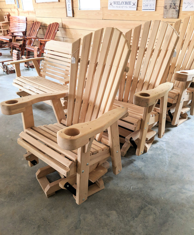 Cypress Swivel Glider - Evergreen Patio