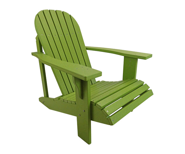 Classic Poly Adirondack Chair - Evergreen Patio