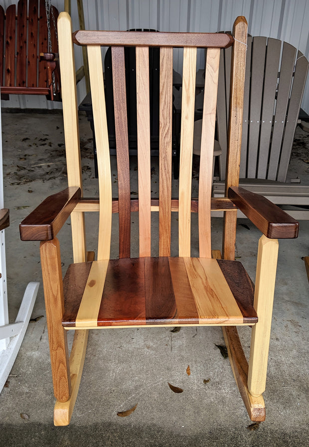 Wooden Rocker - Evergreen Patio