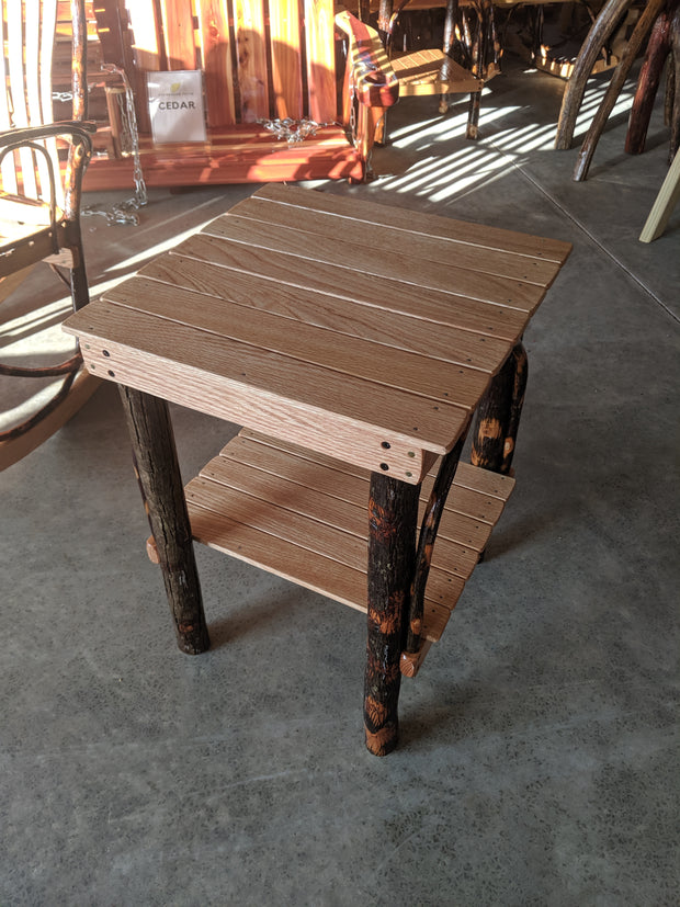 Hickory Bend Side Table - Evergreen Patio
