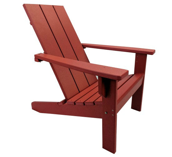 poly products chair modern barn red adirondack cupboard patio furniture evergreen
