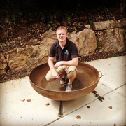 "48"" Heavy Duty Fire Pit - Evergreen Patio"