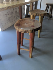 Wooden Bar Stool - Evergreen Patio