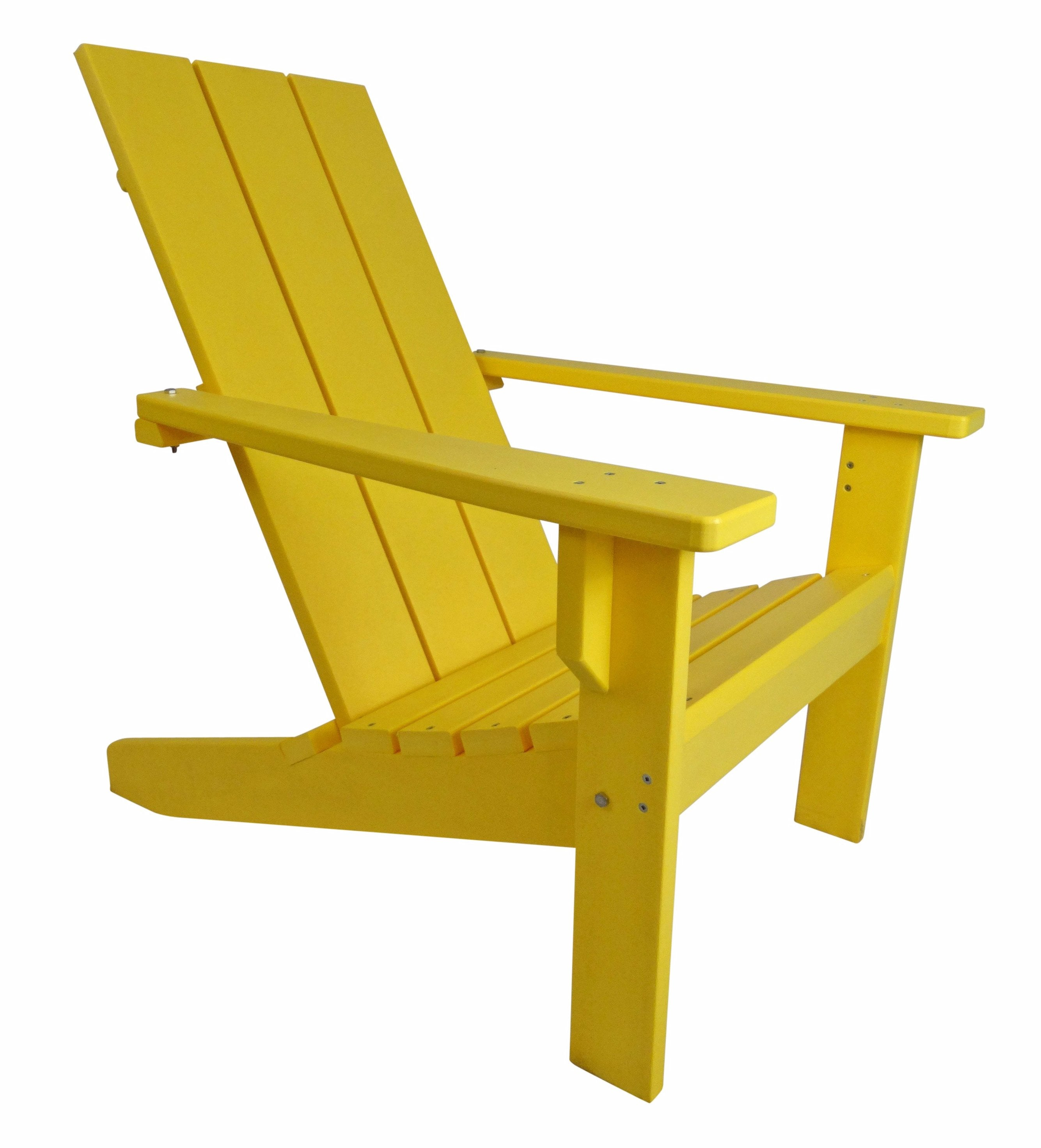... Modern Poly Adirondack Chair ...