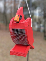 Cardinal Bird Feeder - Evergreen Patio