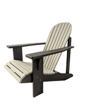 Two Tone Classic Poly Adirondack Chair - Evergreen Patio