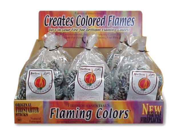 Northern Lights - Fire Color Cones (Small Refill Pack)