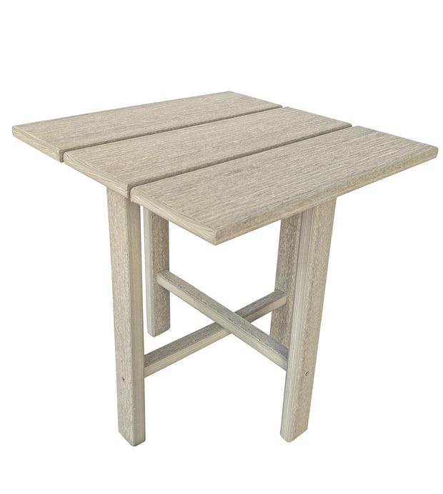 Square Poly Side Table - Evergreen Patio