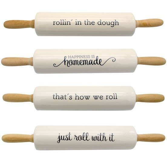Farm Sayings Rolling Pin