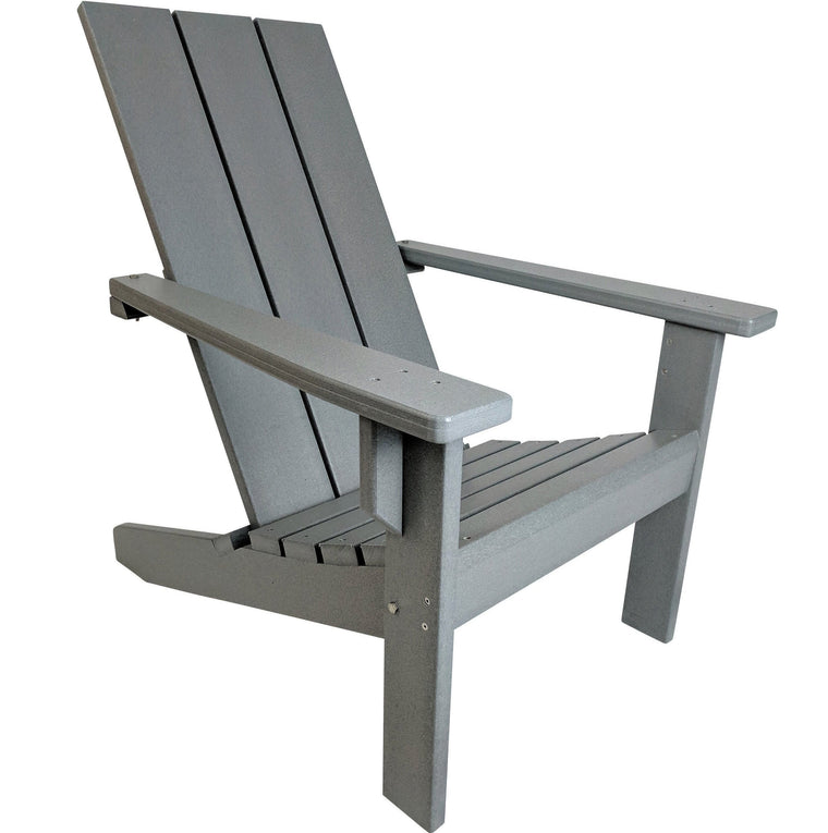Modern Poly Adirondack Chair