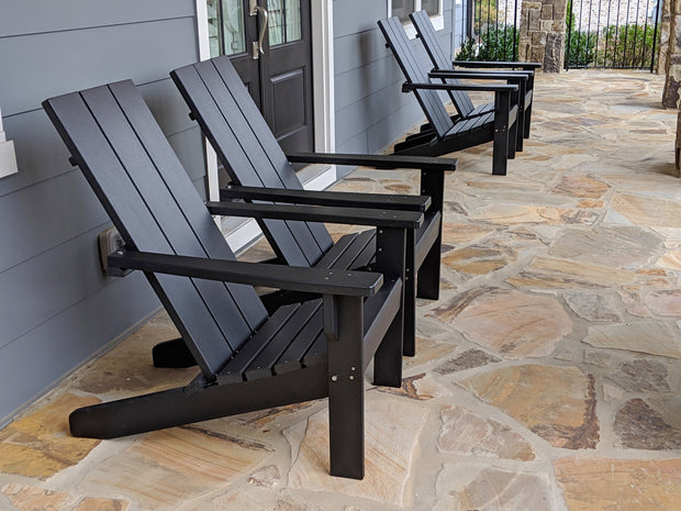 Poly Adirondack Chairs And Fire Pits Evergreen Patio