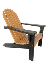 Two Tone Casual Poly Adirondack Chair - Evergreen Patio