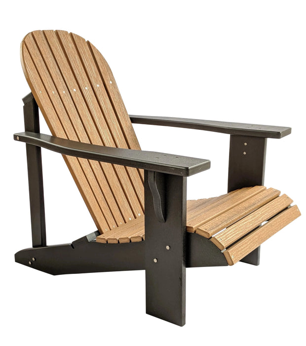 Two Tone Classic Poly Adirondack Chair