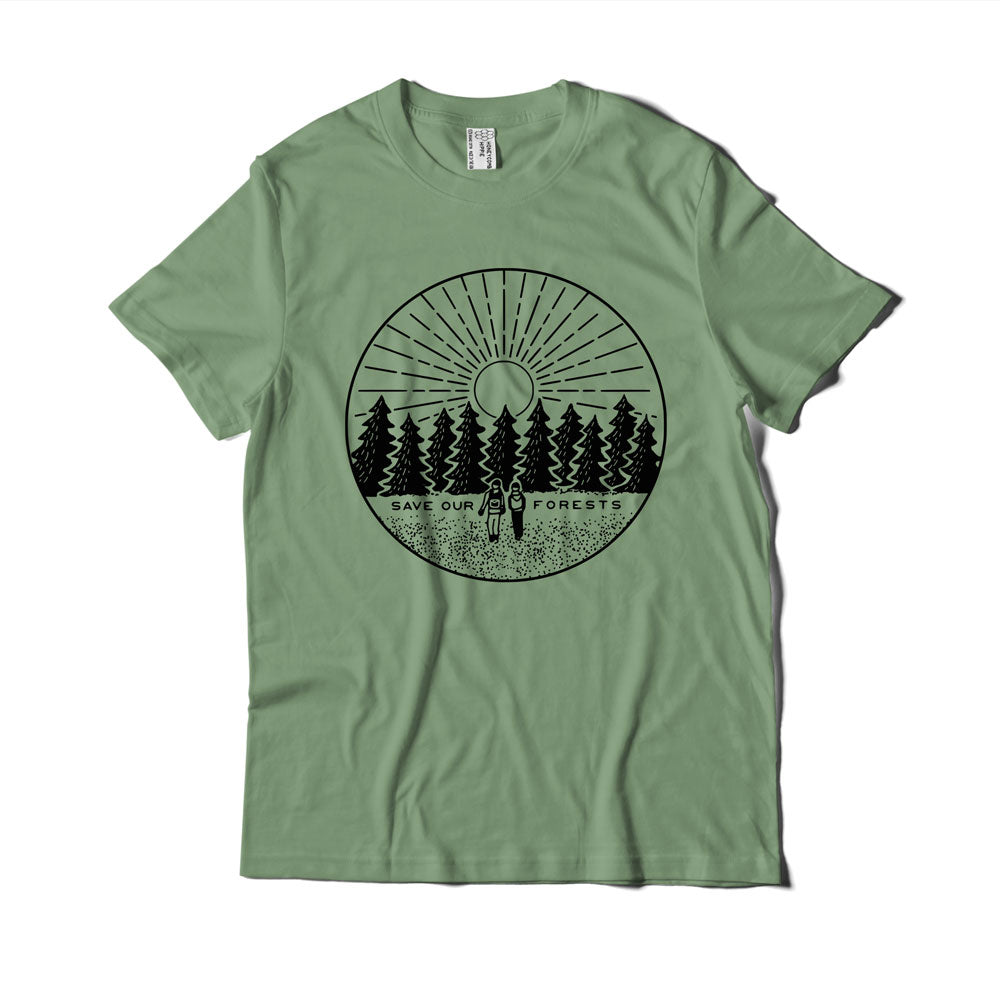 Save our Forests Organic Cotton T-shirt