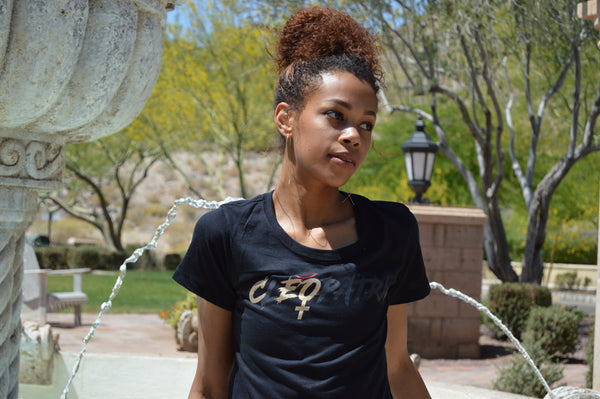 The Female CEO Cleopatra Shirt Black