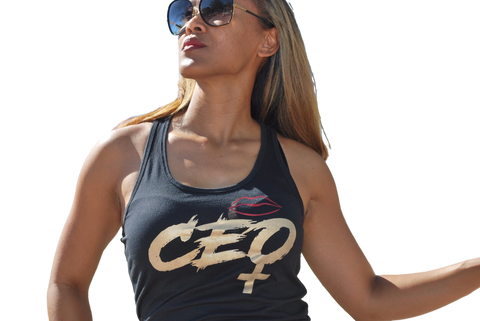 The Female CEO Tank Black (Final Sale)