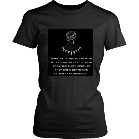Marvel'' BLACK PANTHER TEE (WOMEN'S)
