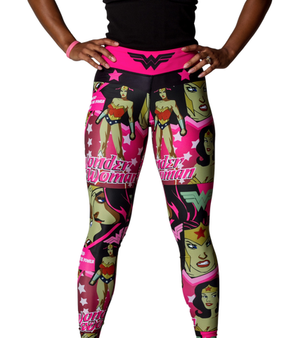 Wonder Woman Leggings Pink