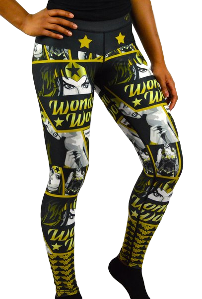 Leggings Black/Gold