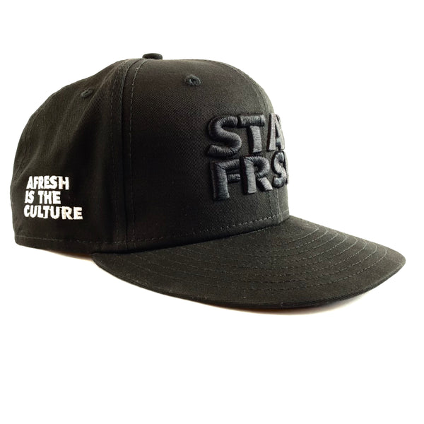 STAY FRSH New Era Blackout Crown