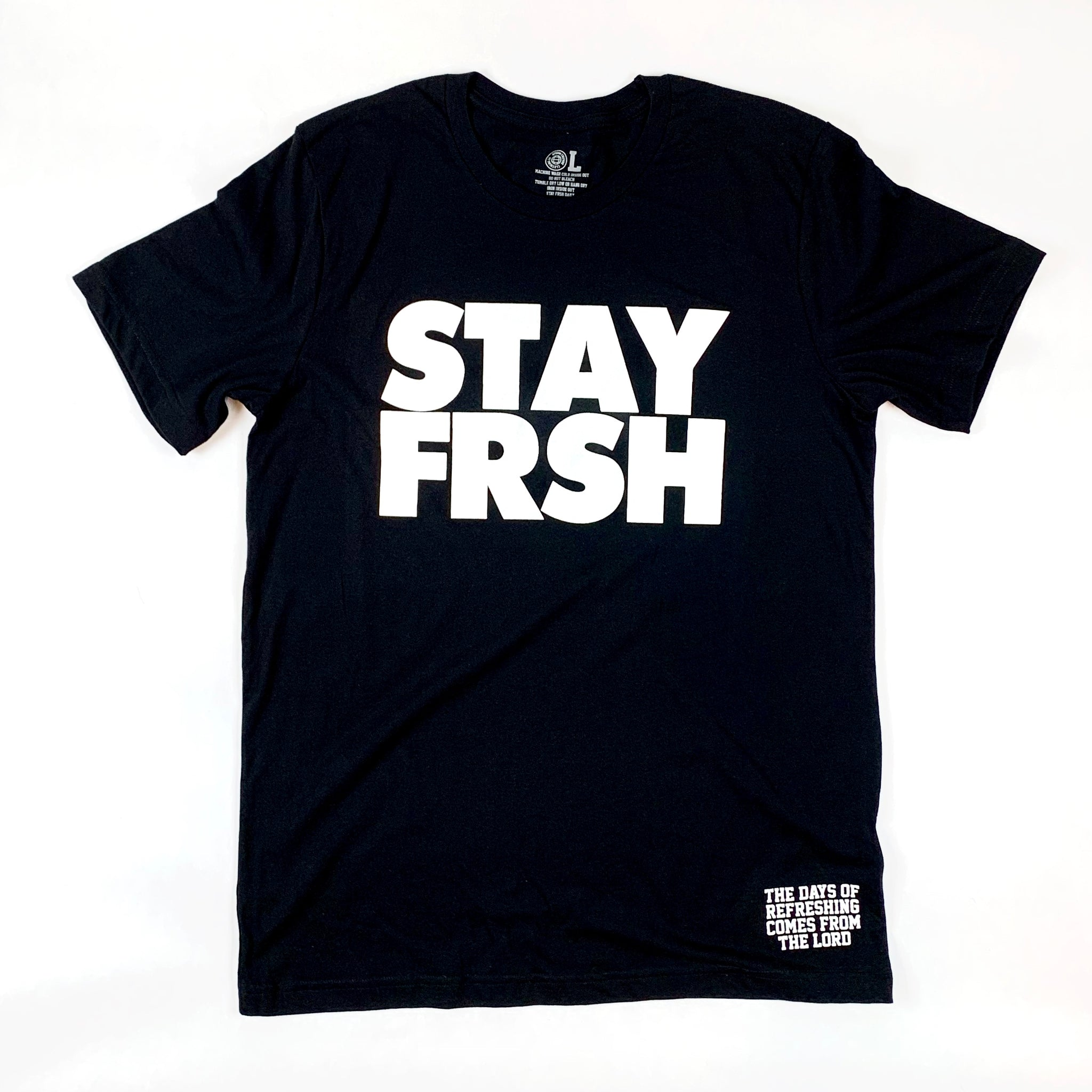 STAY FRSH Original Tee - Black