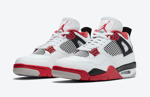 Jordan 4 Retro Fire Red - Size 12
