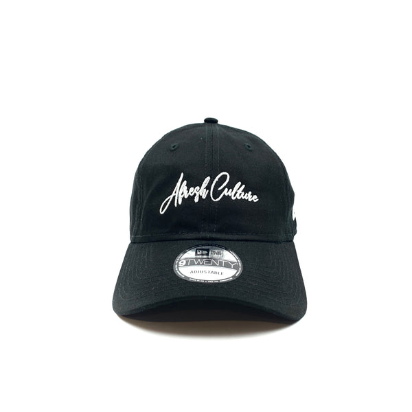 Afresh Culture New Era Script Dad Hat