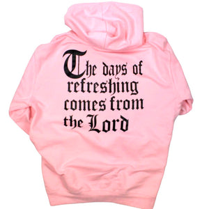 Days Of Refreshing Hoodie - Pink