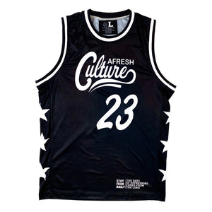 Limited Edition Afresh Culture All-Star Basketball Jersey