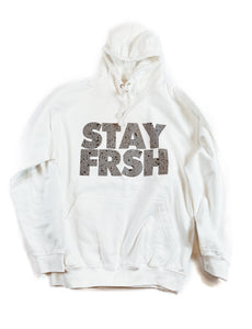 STAY FRSH Cement Hoodie