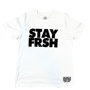 STAY FRSH Original Tee - White