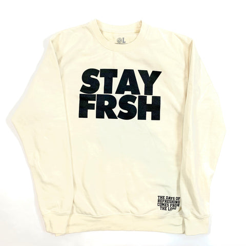 "STAY FRSH ""Nilla"" Fleece Cru"
