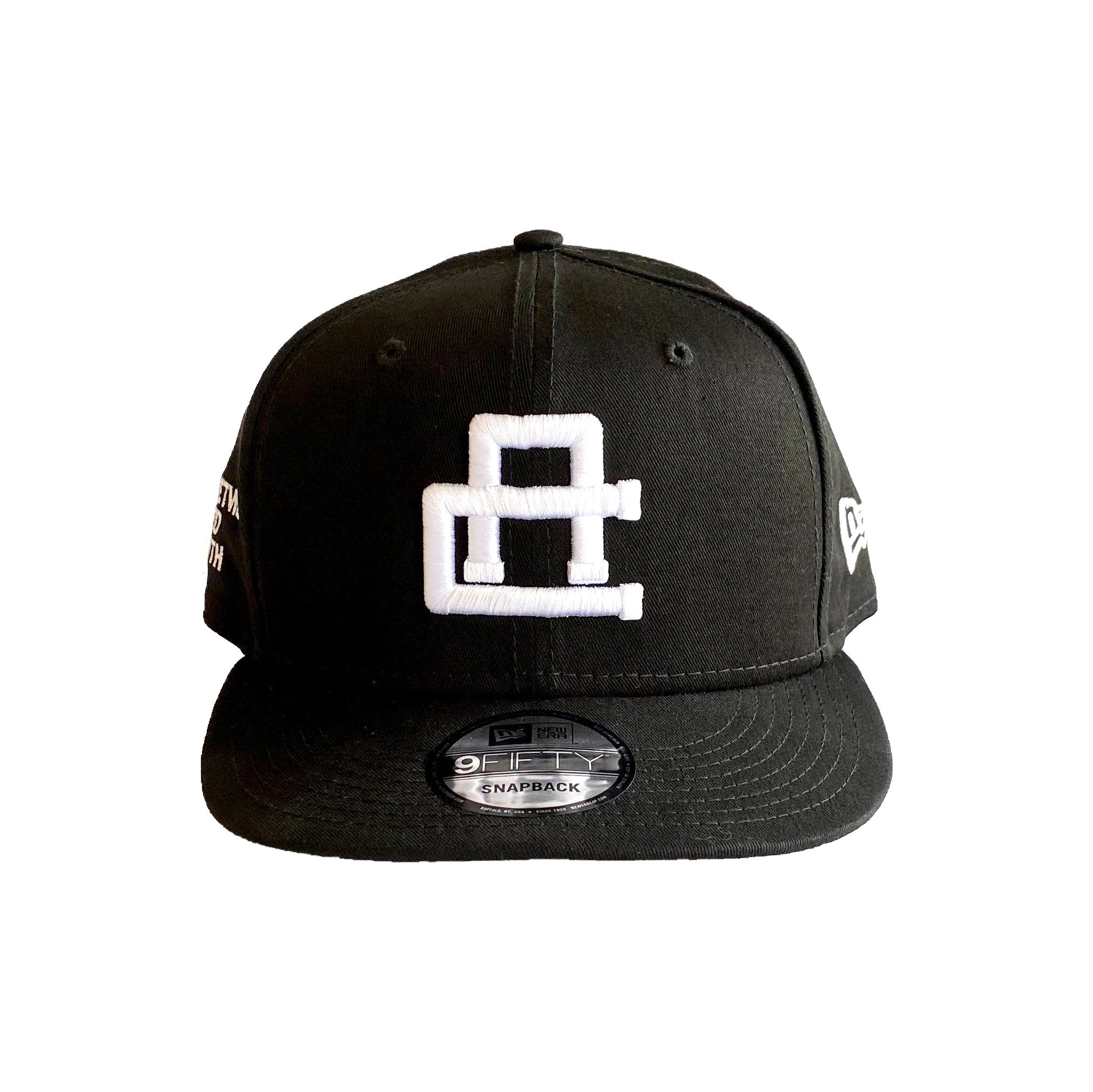 New Era Logo Crown - Black